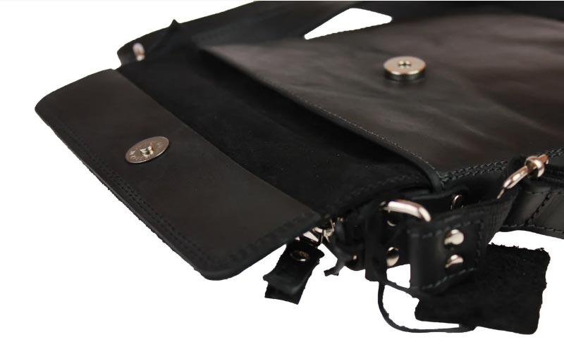 Купить мужскую кожаную сумкуSM01VP-124