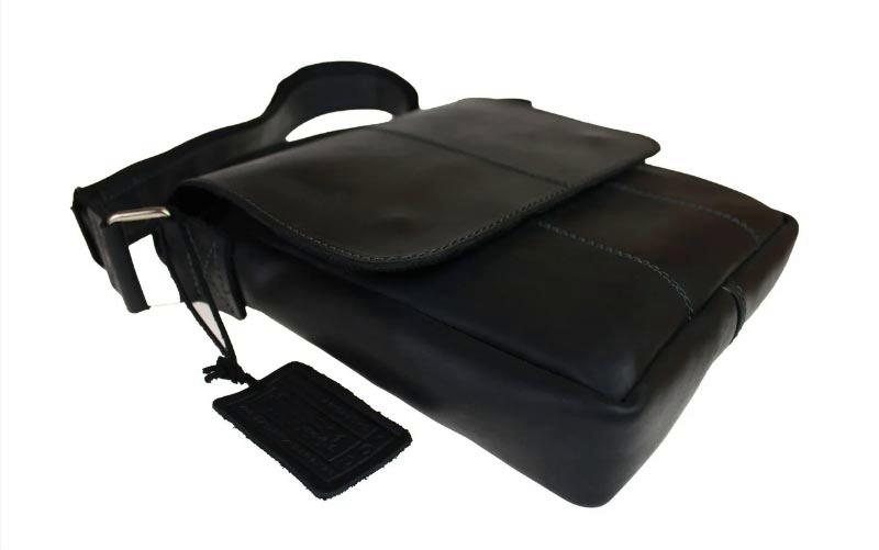 Купить мужскую кожаную сумку SM01VP-140