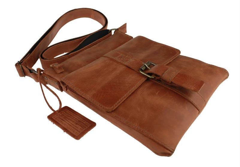 Купить мужскую кожаную сумкуSM01VP-77