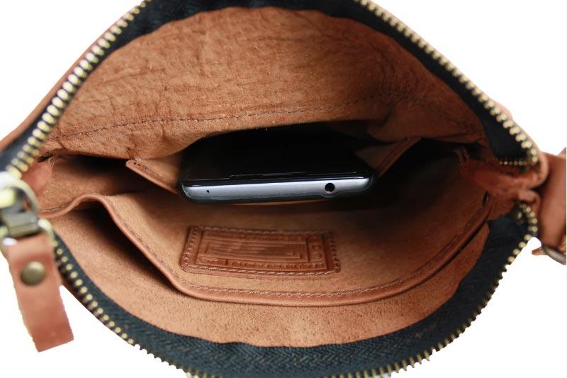 Купить мужскую кожаную сумку SM01VP-77