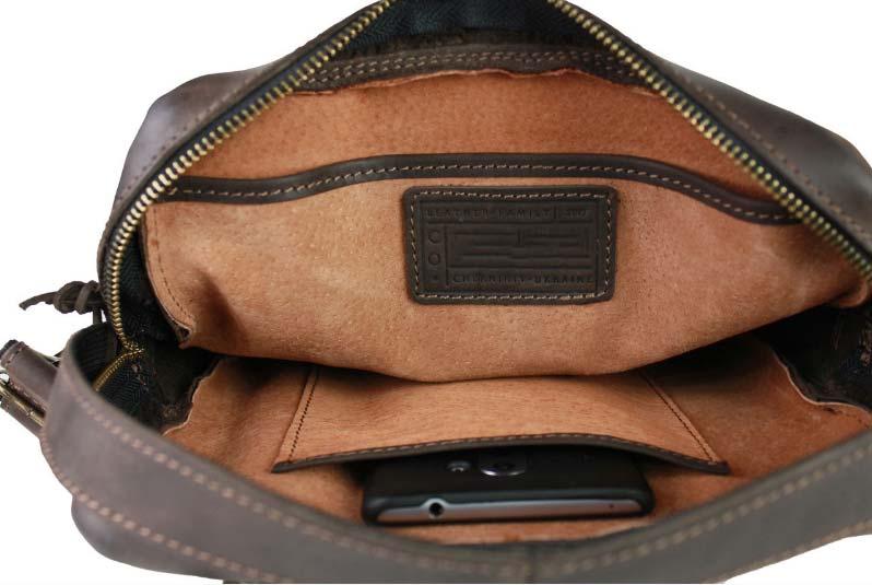 Купить мужскую кожаную сумку SM01VP-105