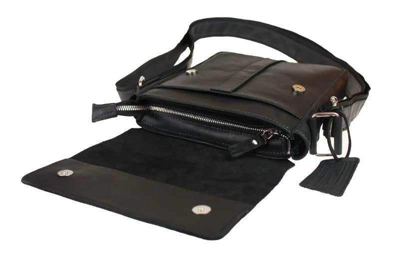 Кожаная сумка планшет SM01VP-125