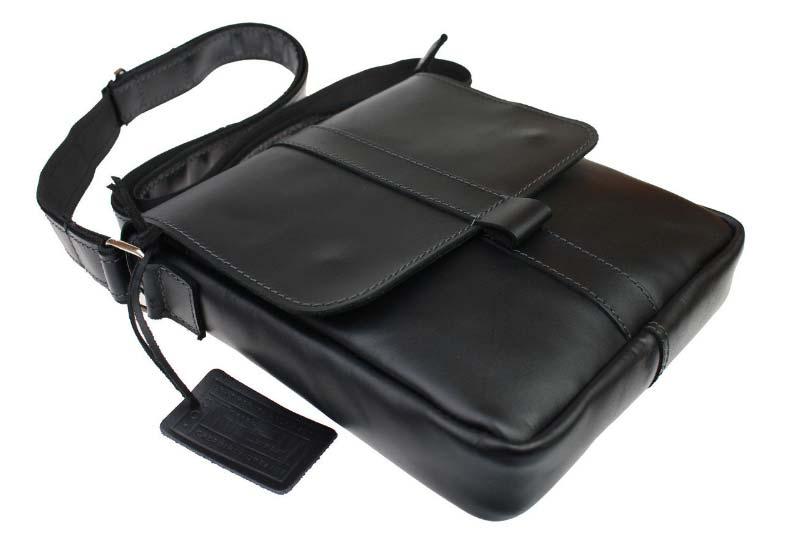 Кожаная сумка планшет SM01VP-141