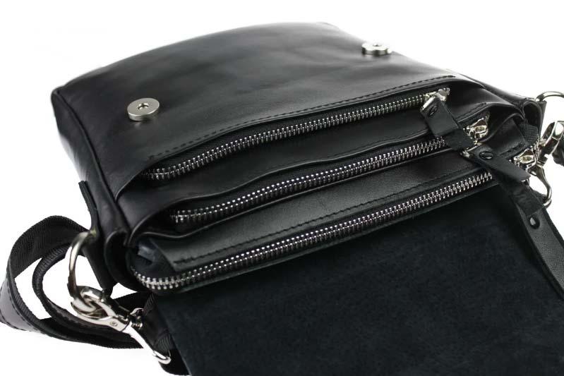 Купить мужскую кожаную сумку SM01VP-33