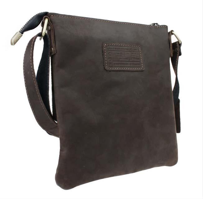 Кожаная сумка планшет SM01VP-38
