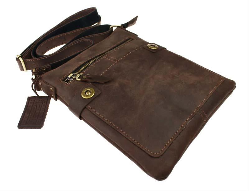 Кожаная сумка планшет SM01VP-46