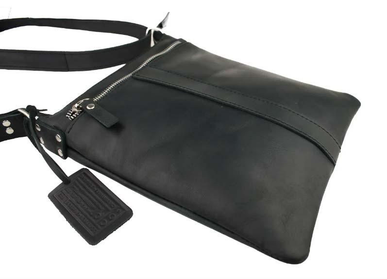Кожаная сумка планшет SM01VP-69