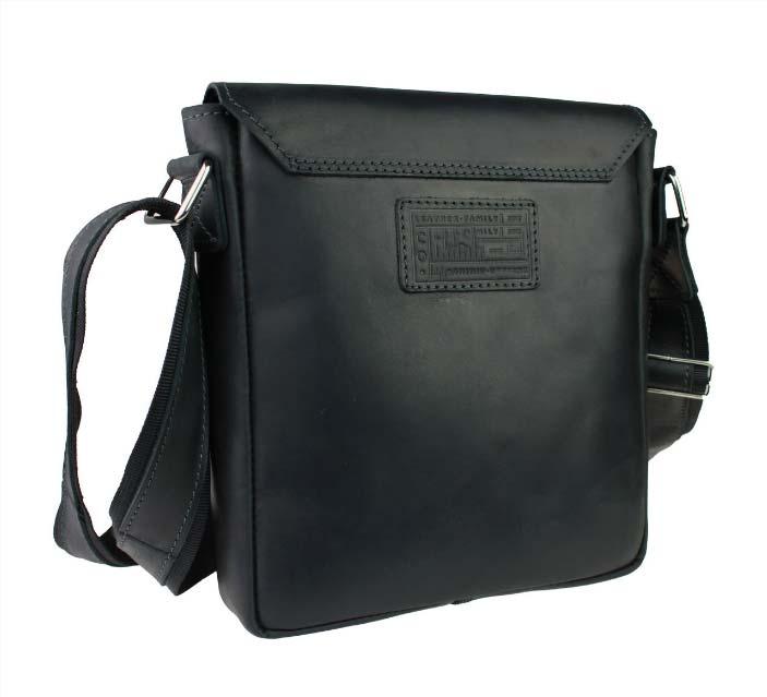 Кожаная сумка планшет SM01VP-72