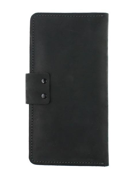 Кошелек мужской тревел-кейс черный KM13K-10