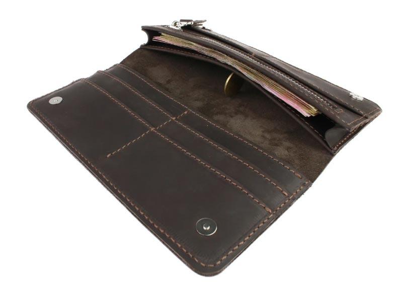 Кошелек мужской купюрник портмоне для денег KM13K-16