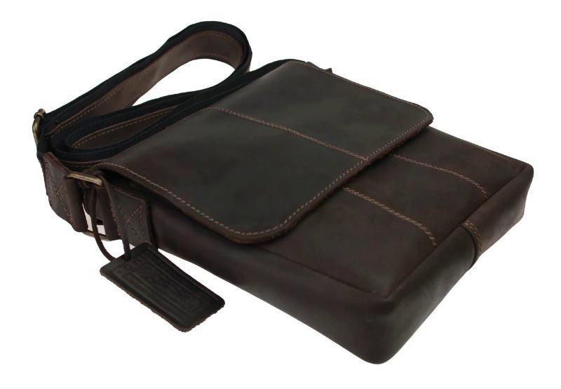Купить мужскую кожаную сумку SM01VP-133