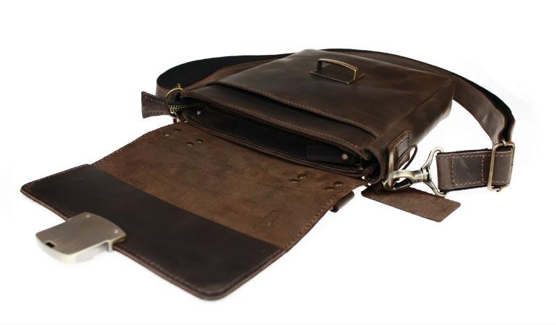 Купить мужскую кожаную сумкуSM01VP-100