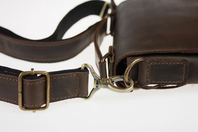 Купить мужскую кожаную сумку SM01VP-100