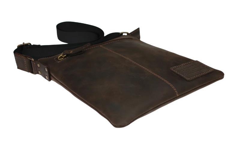 Купить мужскую кожаную сумку SM01VP-111