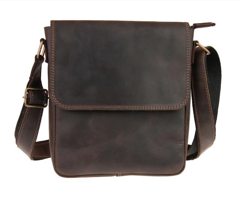 Купить мужскую кожаную сумкуSM01VP-117