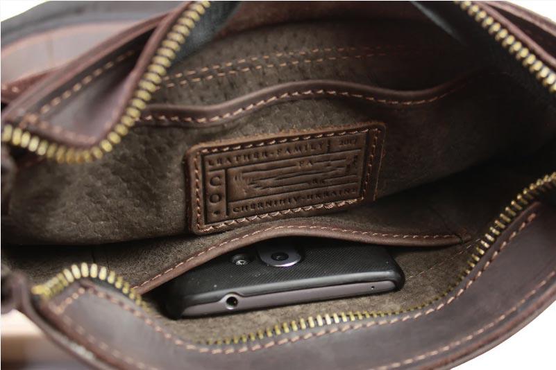 Купить мужскую кожаную сумку SM01VP-126