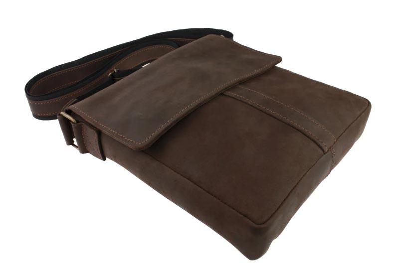 Купить мужскую кожаную сумкуSM01VP-49