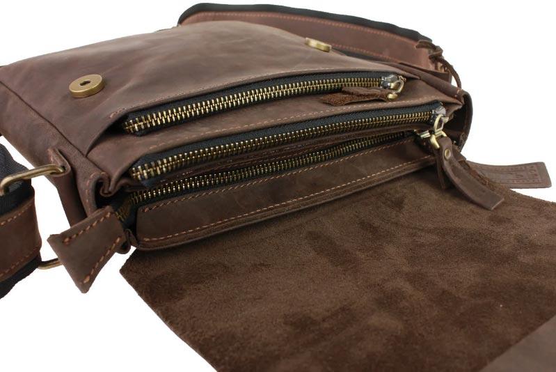 Купить мужскую кожаную сумку SM01VP-51