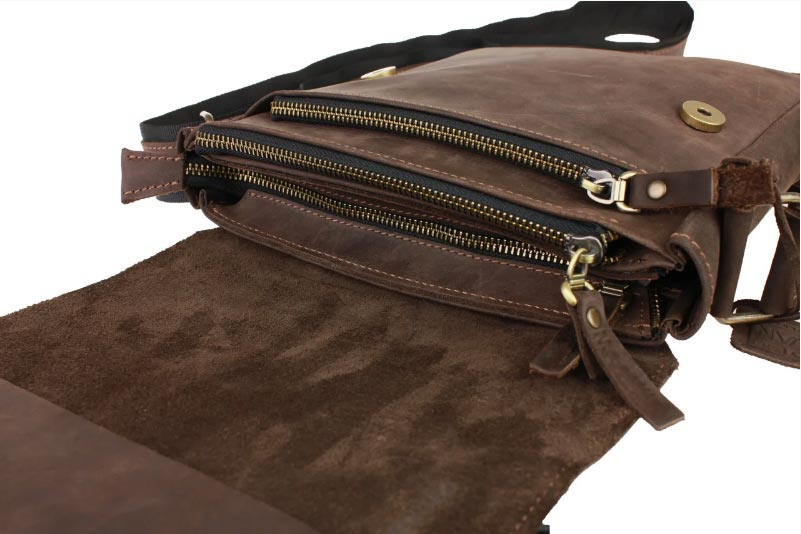 Купить мужскую кожаную сумкуSM01VP-51