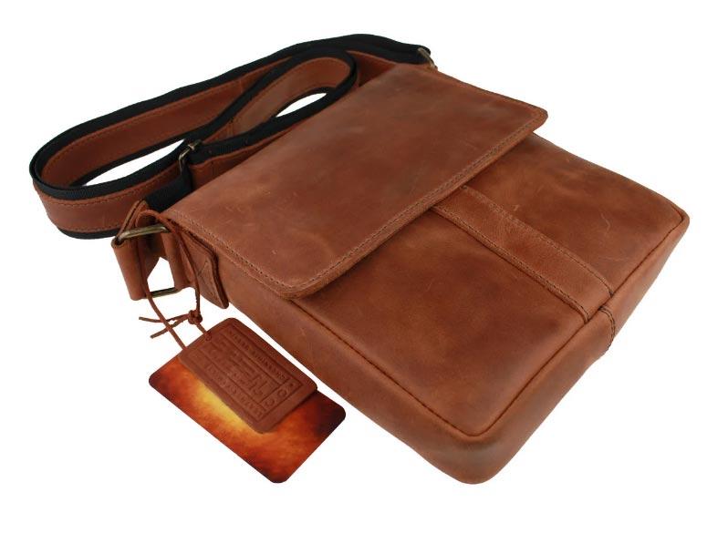Купить мужскую кожаную сумку SM01VP-66