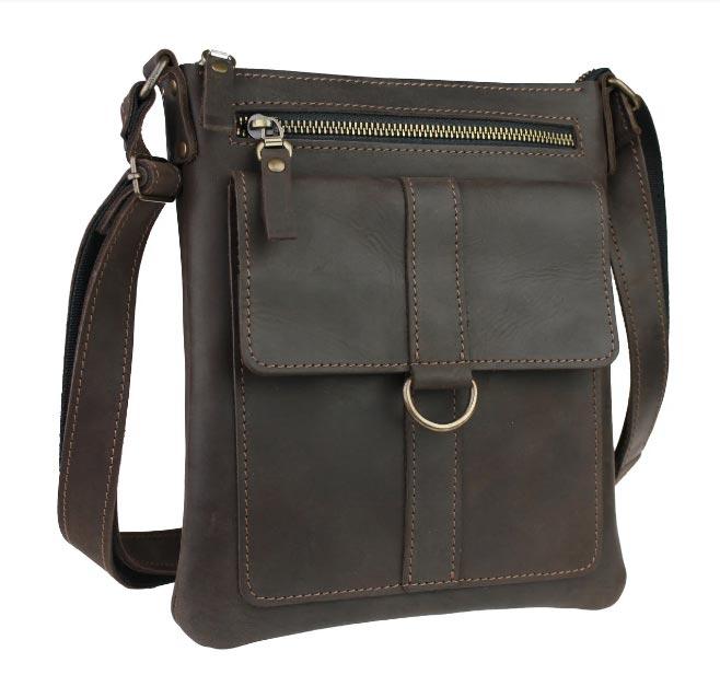 Купить мужскую кожаную сумку SM01VP-82