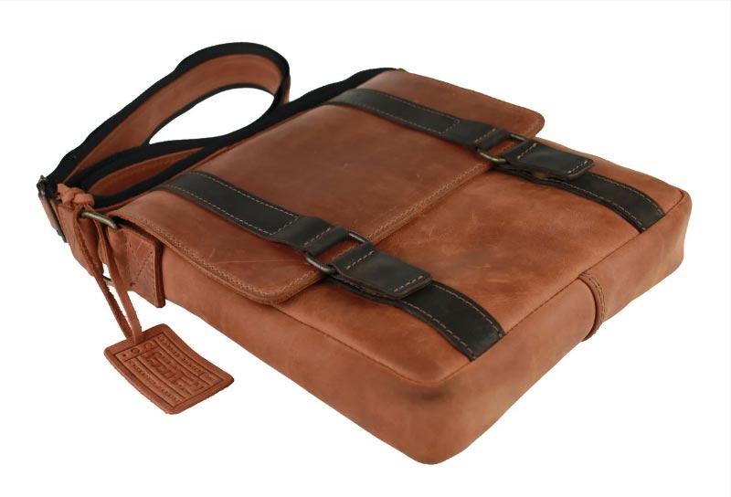 Купить мужскую кожаную сумку SM01VP-87
