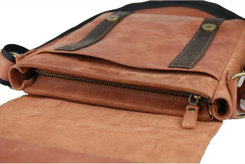 Купить мужскую кожаную сумкуSM01VP-87