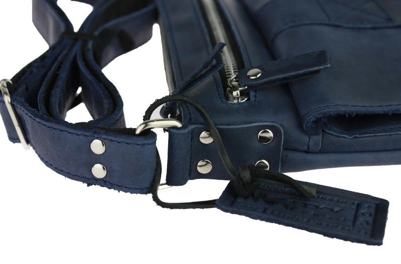Купить мужскую кожаную сумку SM01VP-107