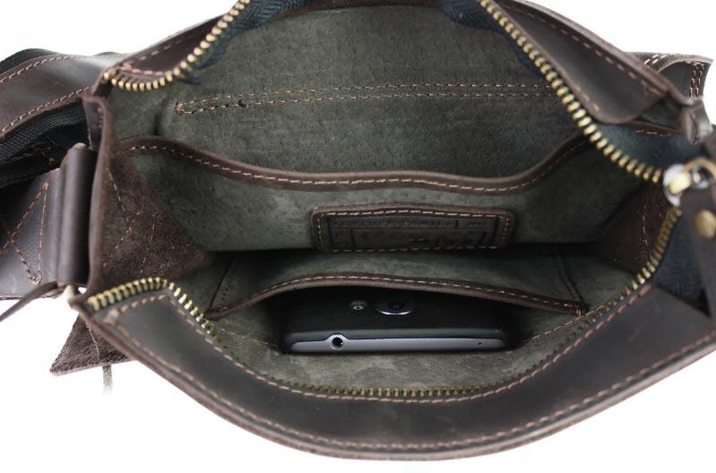 Купить мужскую кожаную сумку SM01VP-110