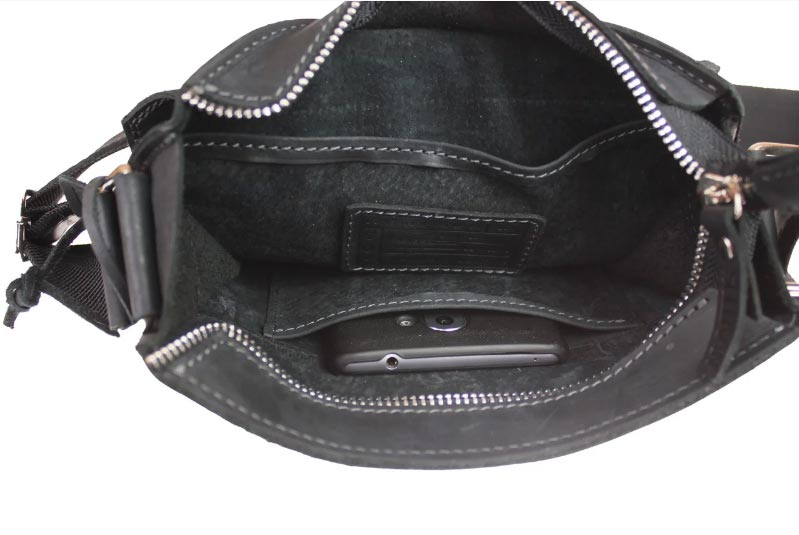 Купить мужскую кожаную сумку SM01VP-113