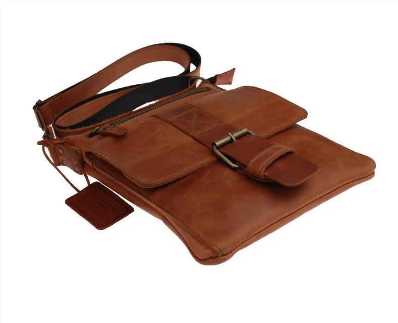 Купить мужскую кожаную сумку SM01VP-114