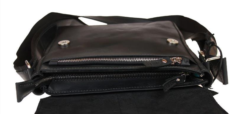 Купить мужскую кожаную сумку SM01VP-122