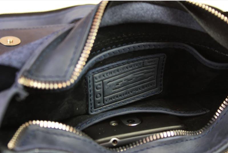 Купить мужскую кожаную сумку SM01VP-143