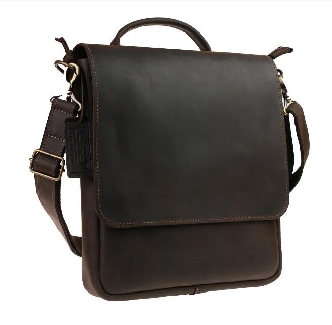 Купить мужскую кожаную сумку SM01VP-145