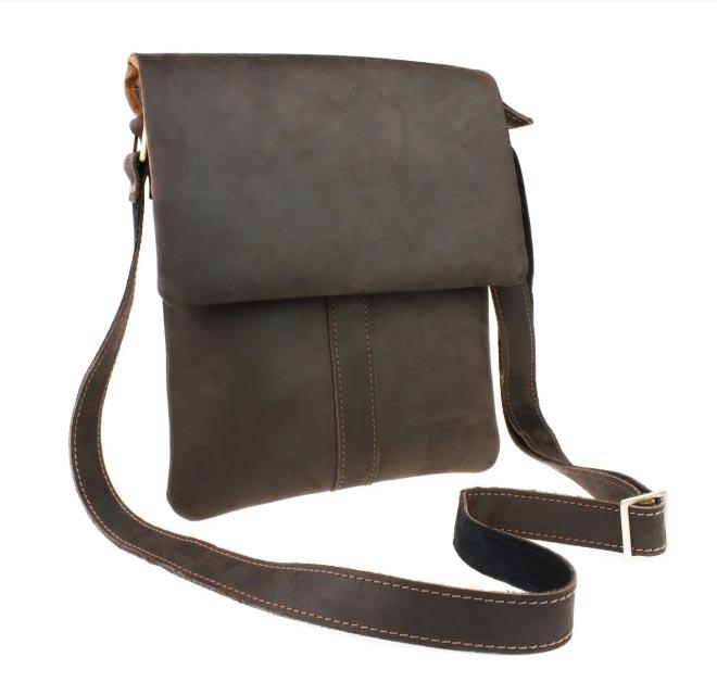 Купить мужскую кожаную сумку SM01VP-40
