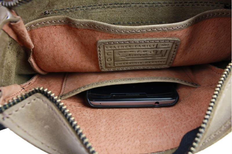 Купить мужскую кожаную сумку SM01VP-54