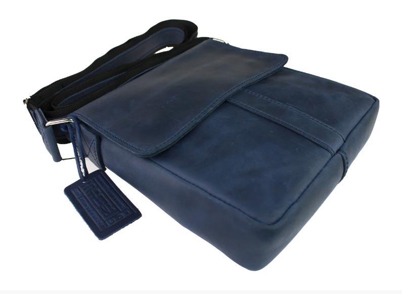 Купить мужскую кожаную сумку SM01VP-74