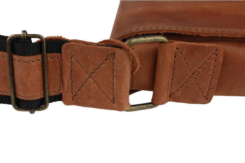 Купить мужскую кожаную сумку SM01VP-84